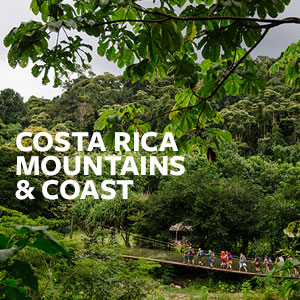 Costa Rica Mountains & Coast
