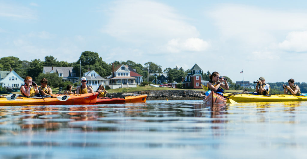A Snapshot of Adventure: Kayaking, Hiking & Community Service