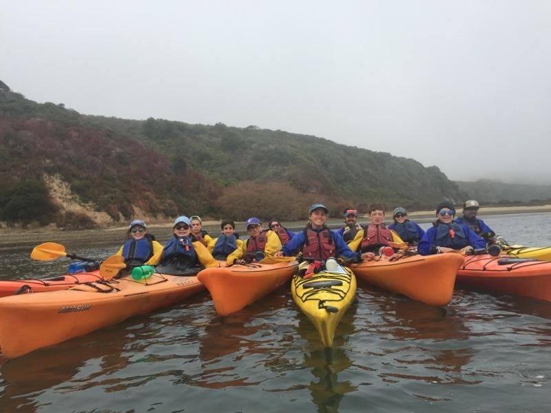 CMCAers Kayaking