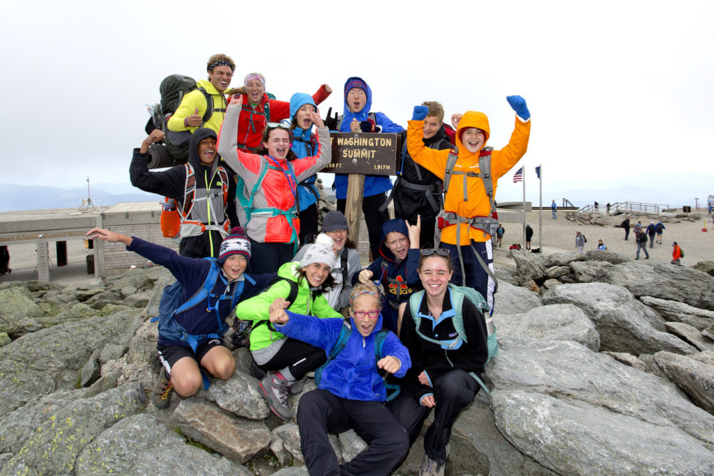 Hiking Mount Washington with Apogee Adventures, Saturday, July 11, 2015. (Photo by Gabe Souza)